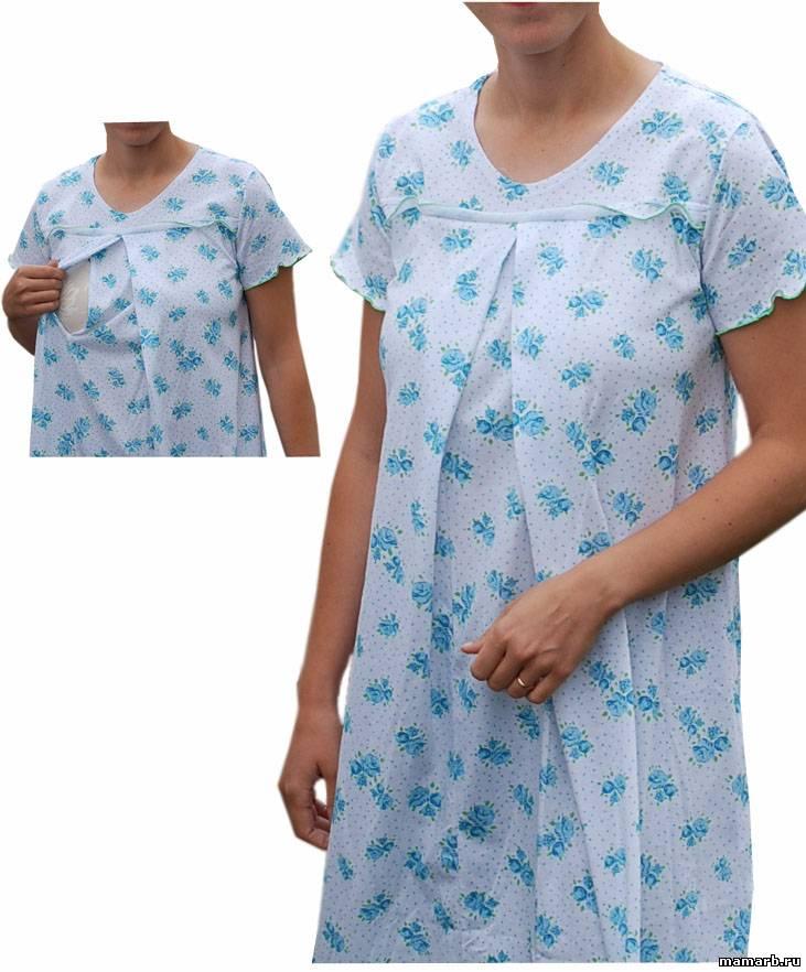Простые ночные рубашки своими руками 123