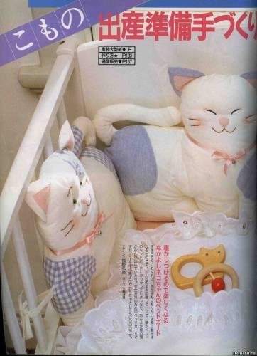 Как сшить бортики игрушки на детскую кроватку выкройки